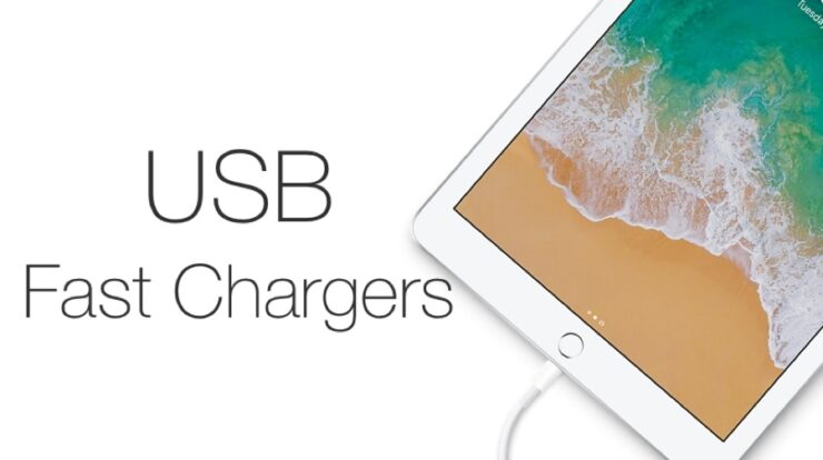 iPad 6 fast chargers