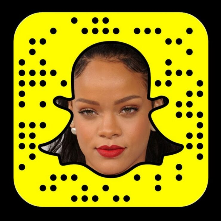 Image result for rihanna snapchat