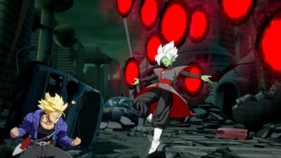 Dragon Ball FighterZ DLC character Fused Zamasu first screenshots