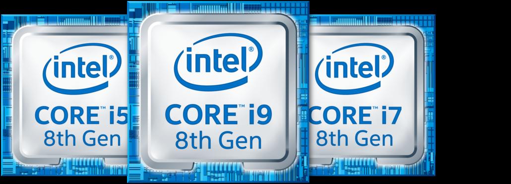 Intel 8th Gen Core i9 Notebook CPU