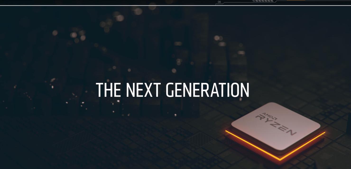 AMD 2nd Gen Ryzen CPUs