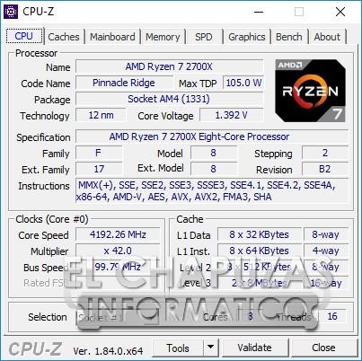 AMD Ryzen 7 2700X CPU Benchmarks and Overclock Performance Leak