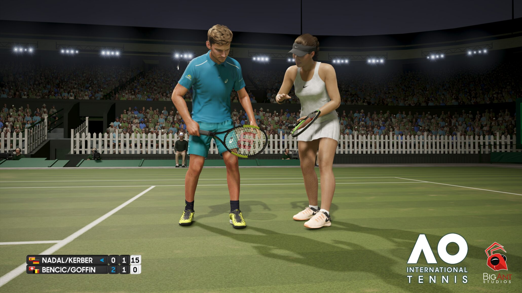 AO International Tennis Interview - A Whole New Game