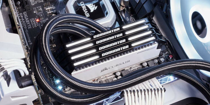 Image result for DOMINATOR® PLATINUM SPECIAL EDITION CONTRAST 32GB (4X8GB) DDR4 3466 (PC4-27700) C16 DESKTOP MEMORY