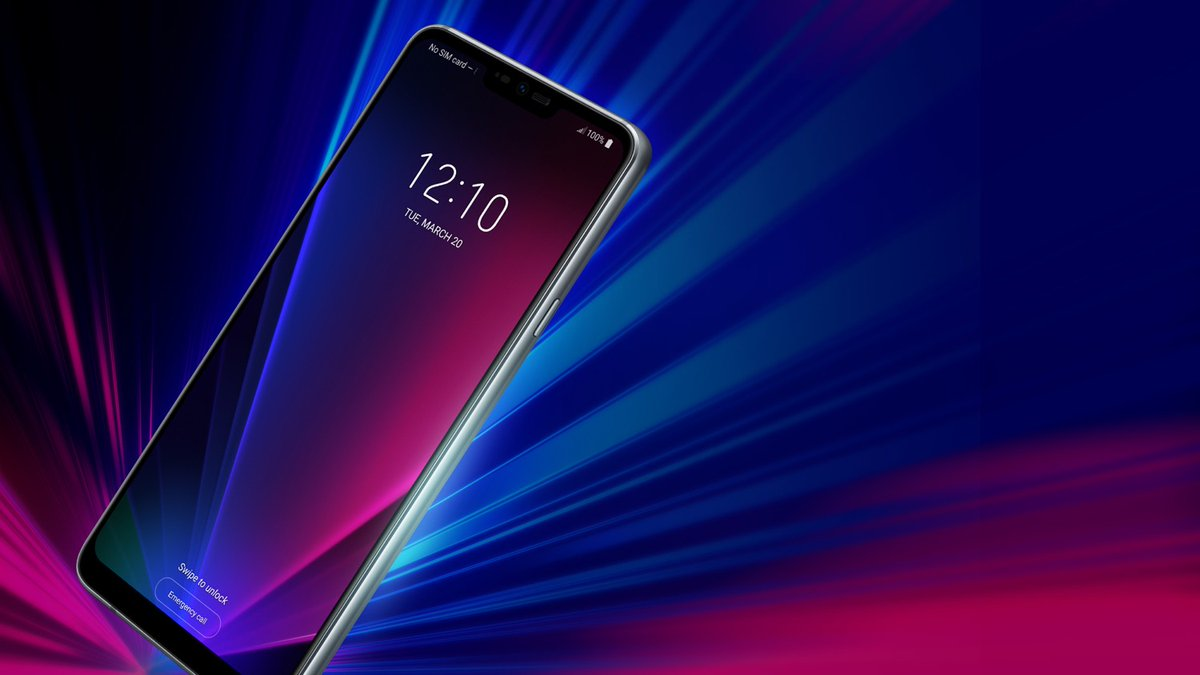 LG G7 ThinQ Render confirms handset's notched display and bezel-free design