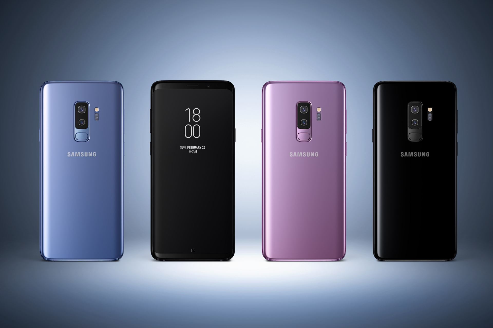 "See at a Glance Samsung Galaxy S10, ""The Beyond""."