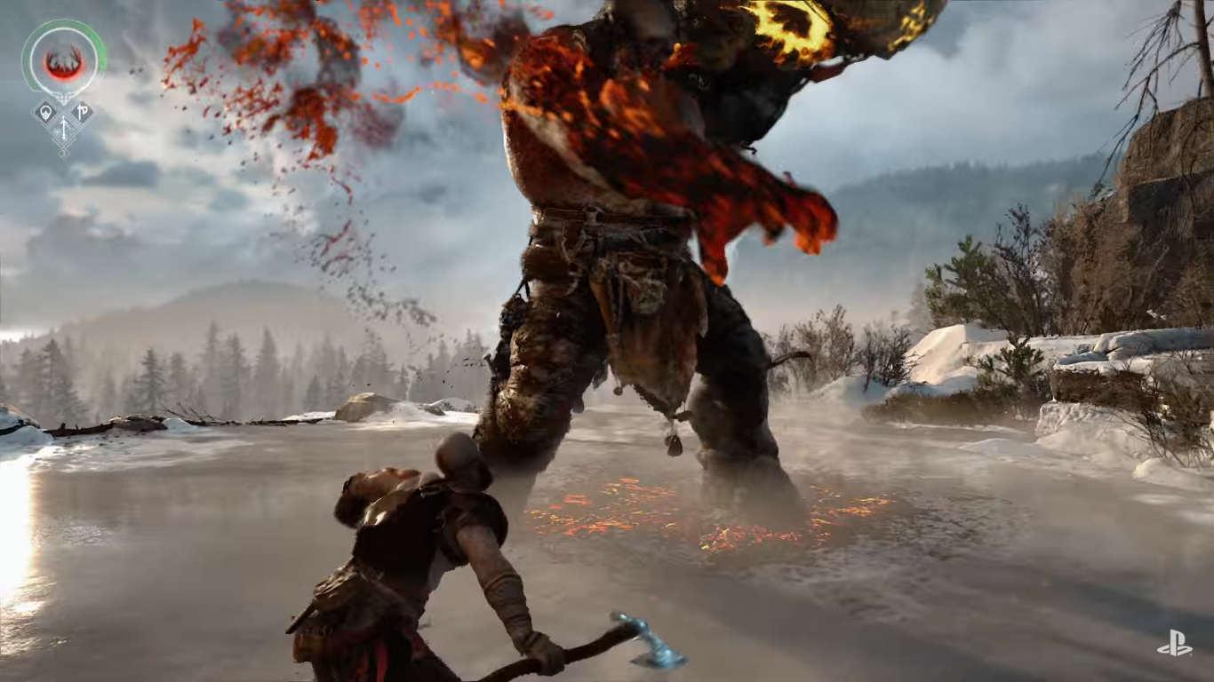 God of War 4 PC Download Highly Compressed - HdPcGames
