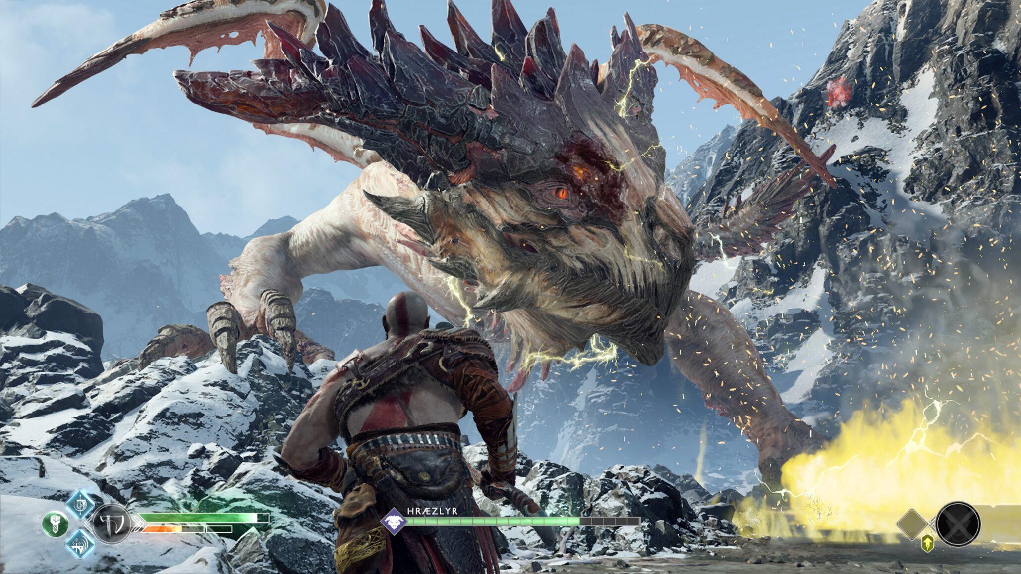 God of war update includes various improvements and fixes - God of war jormungandr ...