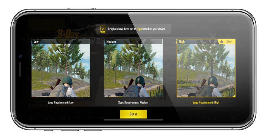 How to Adjust Graphics Settings of PUBG Mobile on iOS and