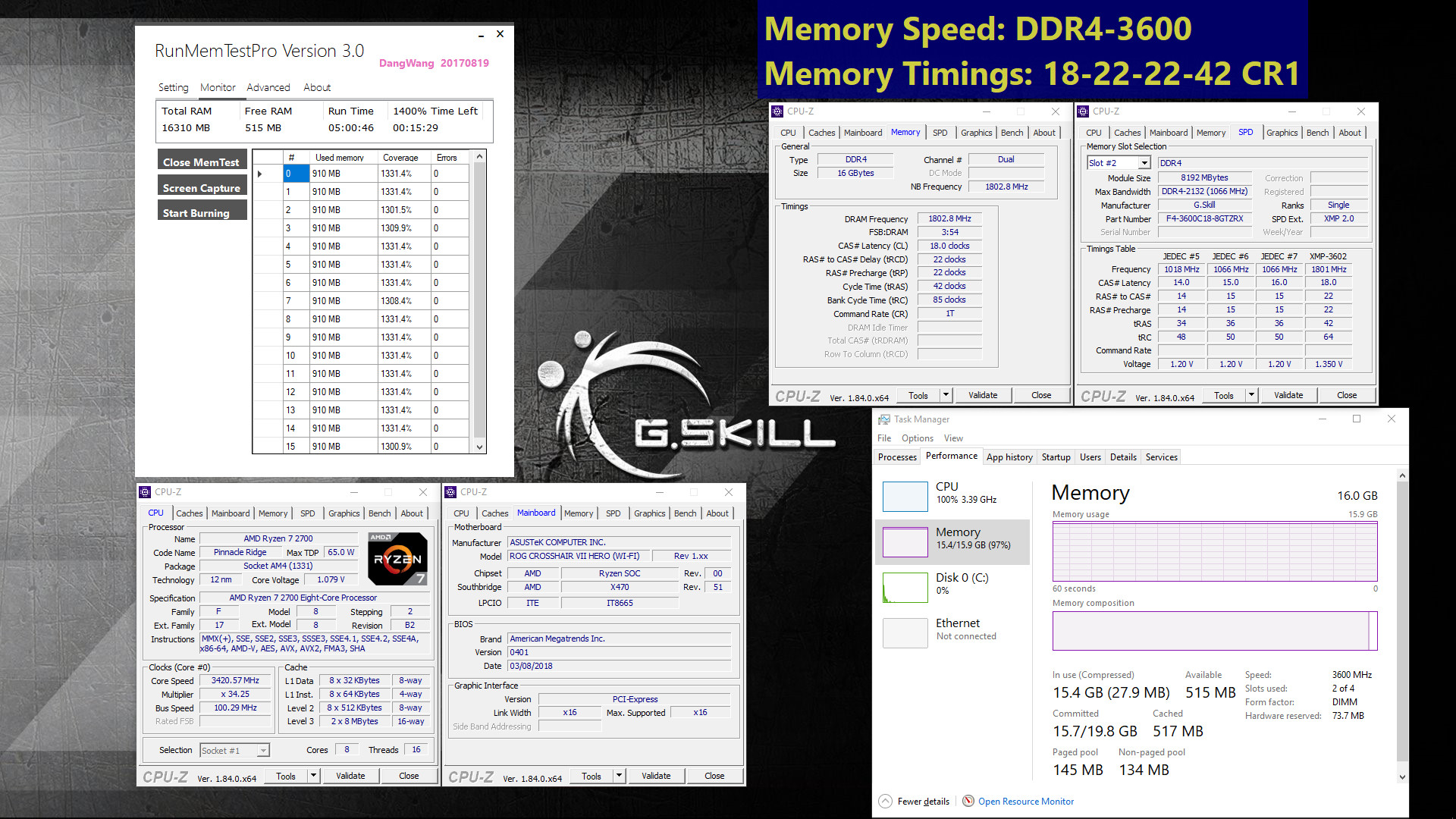 G Skill Announces New Kits and Specifications For AMD Ryzen