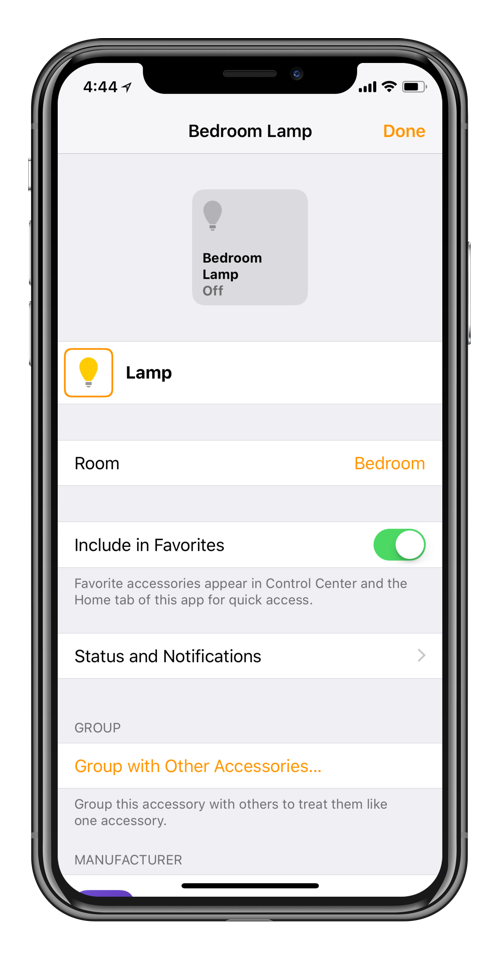 favorite homekit