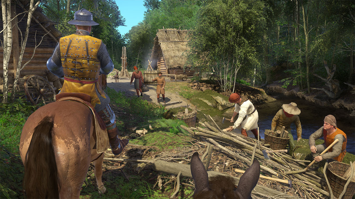 Kingdom Come Deliverance rpg game for PC