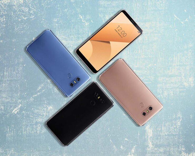 LG G7 Thin Q official flagship name