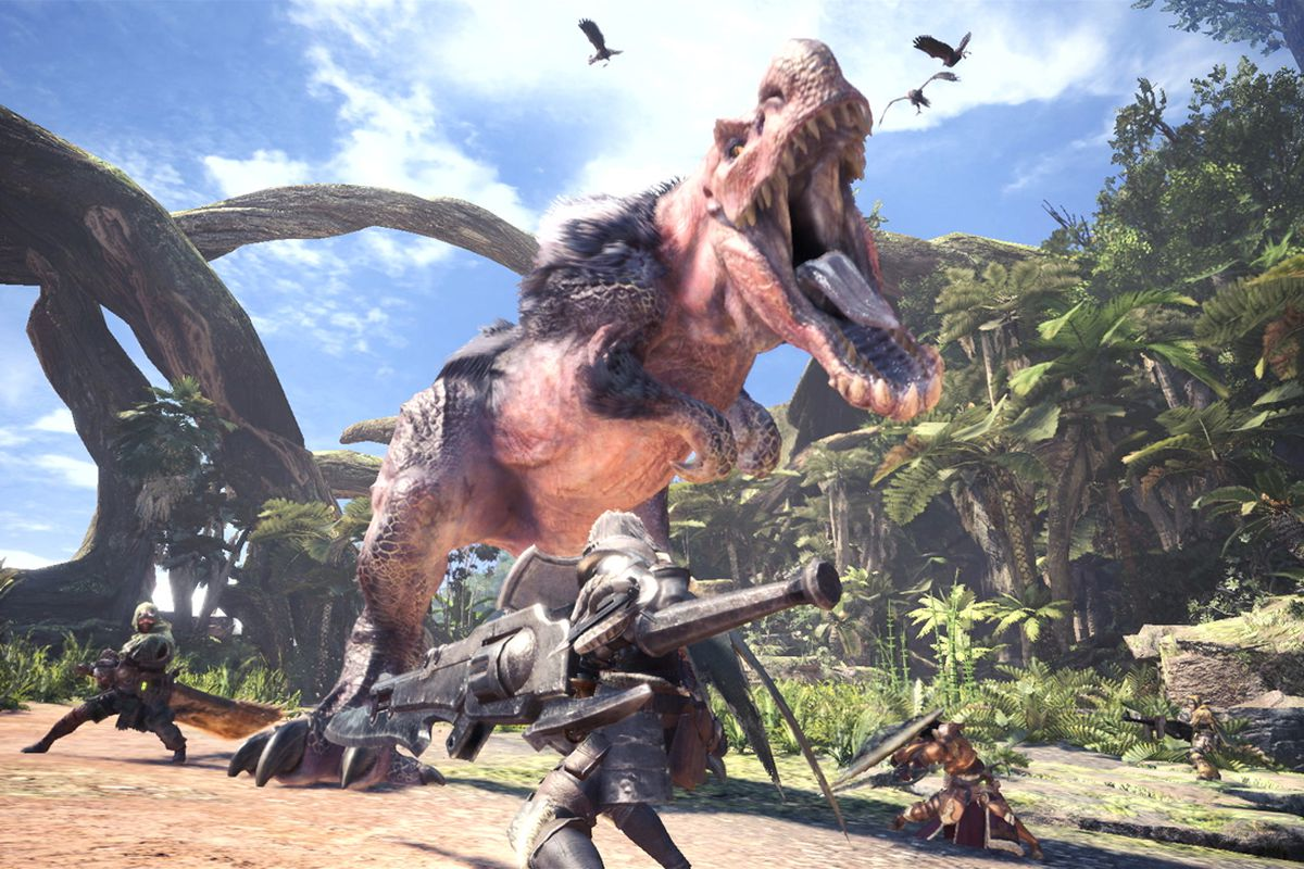 Monster Hunter World PC In-Game Squads Replaced With Steam Groups