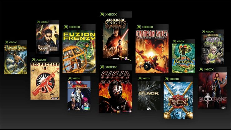 Original Xbox Backward Compatibility