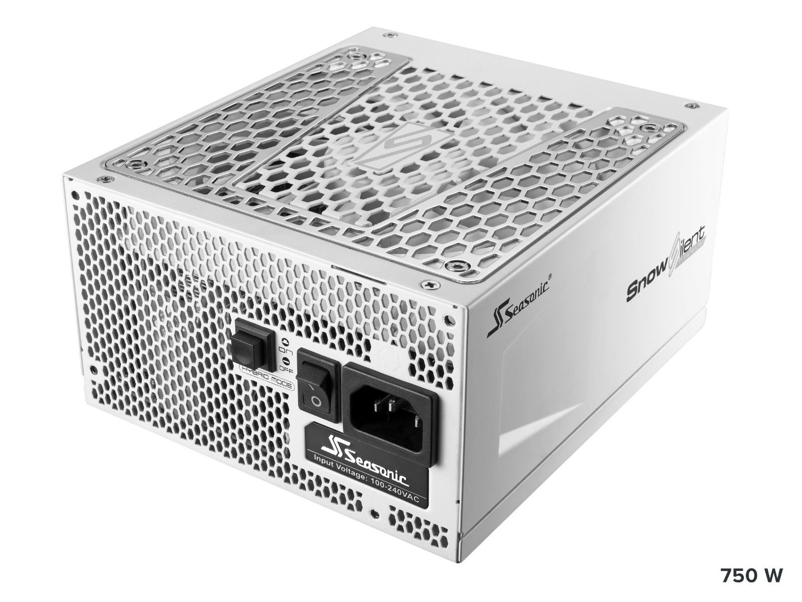 Seasonic Releases Prime SnowSilent White PSUs with 12 Year Warranty