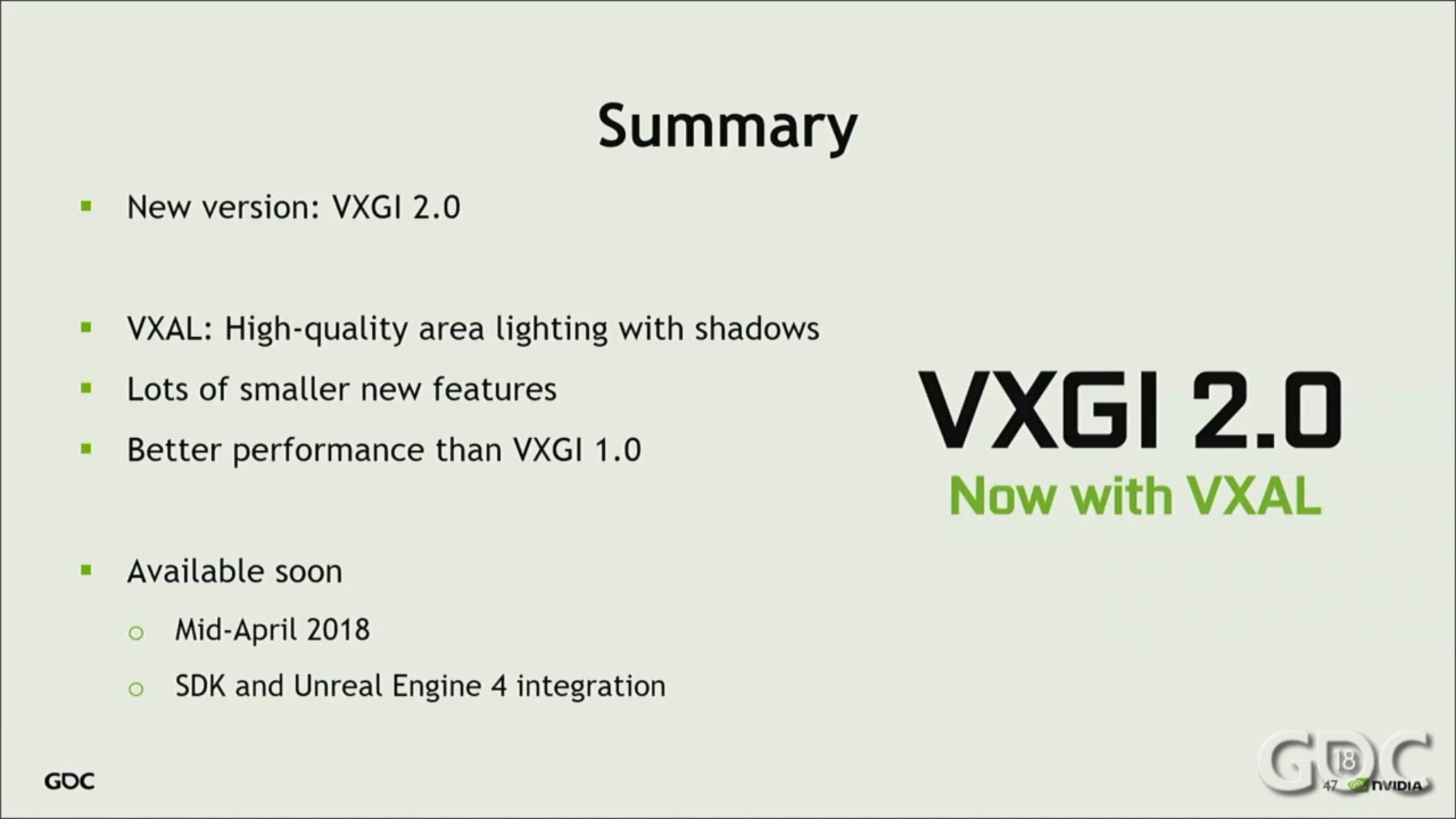 NVIDIA Releasing VXGI 2 0 Soon with Better Performance, High Quality