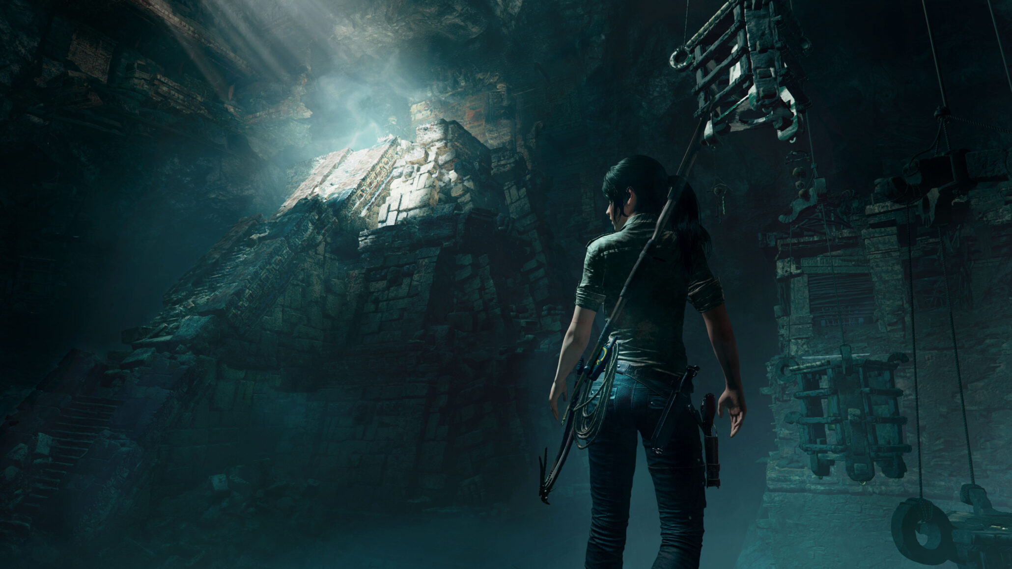 Spoilers Leaked Shadow Of The Tomb Raider Screenshots Show A
