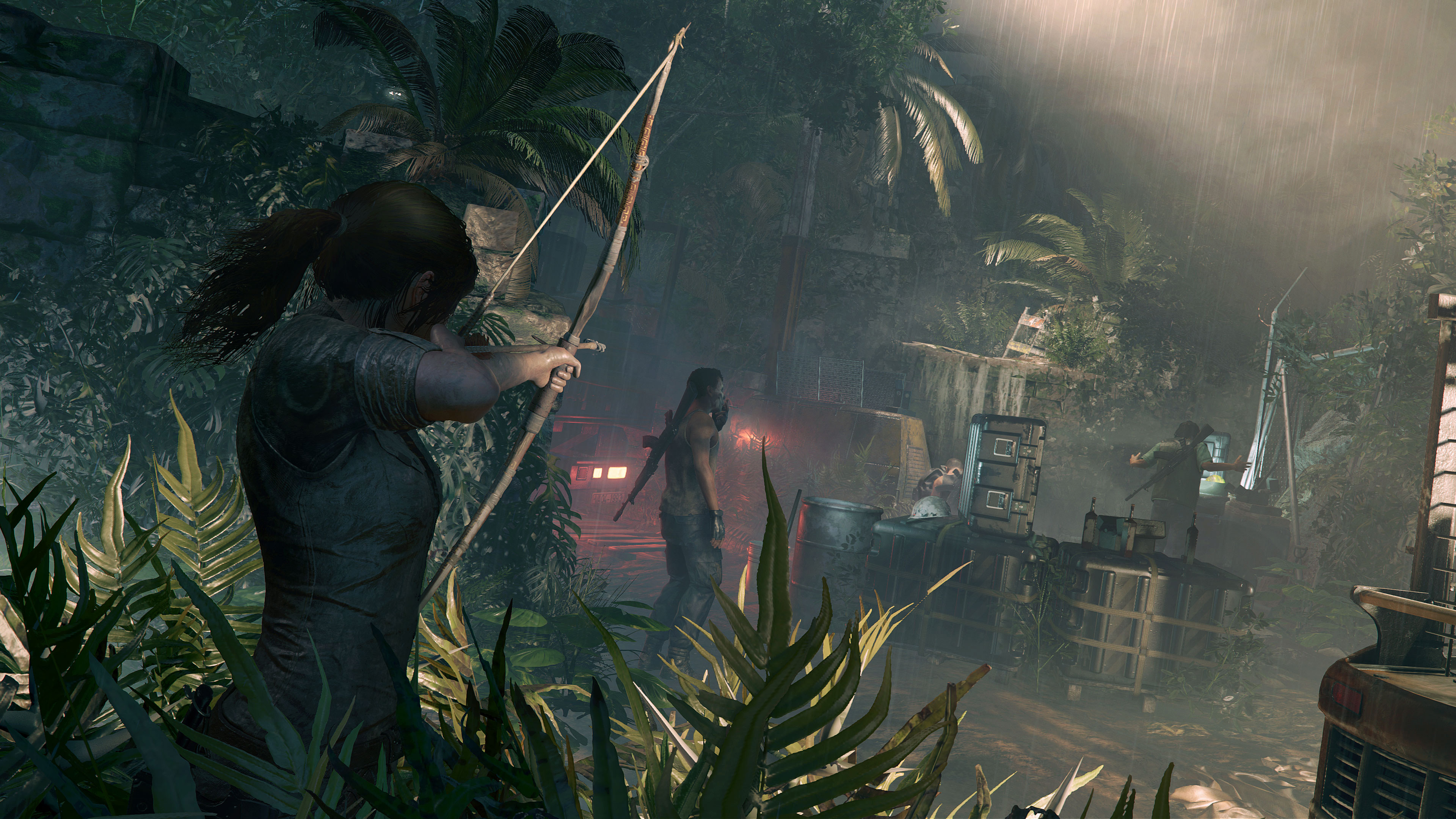 Shadow Of The Tomb Raider New Gameplay Footage Showcases Stealth