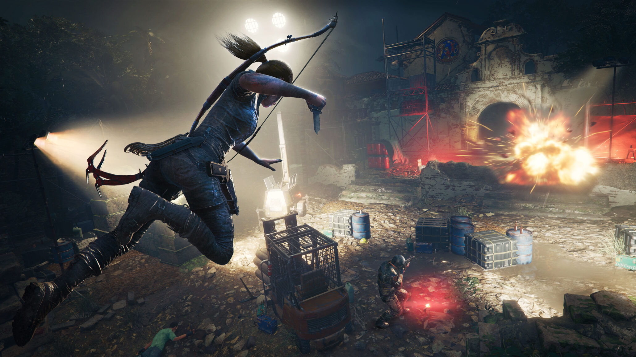 Shadow Of The Tomb Raider Won T Have Trial Error Puzzles Biggest Hub To Change With Lara S Actions