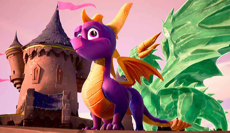 Spyro Reignited Trilogy Website Lists Pc And Nintendo Switch Versions Of The Game