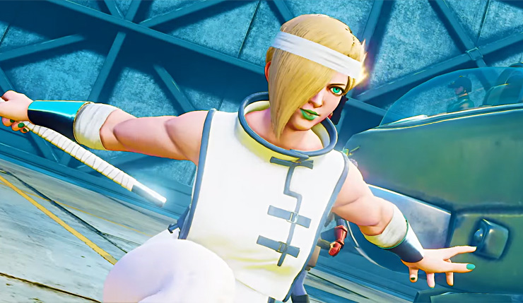 Falke joins Street Fighter V Arcade Edition in late April