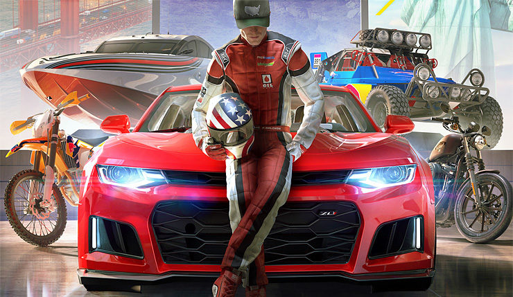 the crew 2 shows off its crazy vehicle transformations in new footage. Black Bedroom Furniture Sets. Home Design Ideas