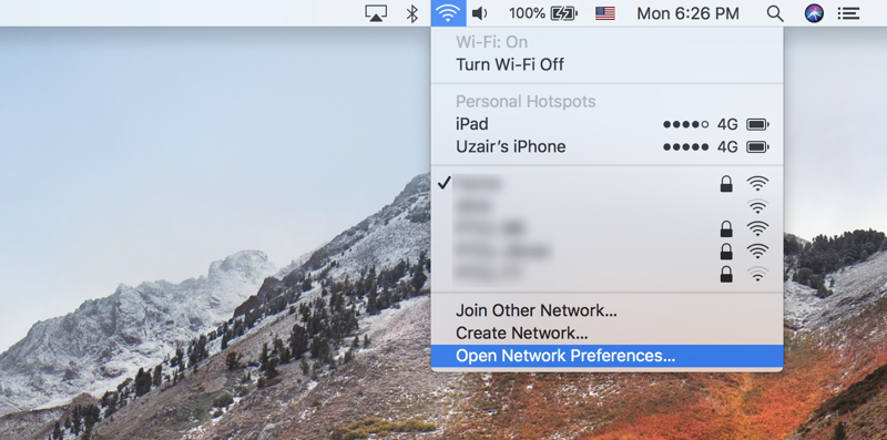 Prioritize WiFi Networks