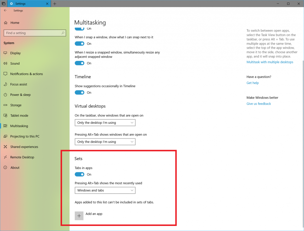 Windows 10 Redstone 5 Gets New Sets Improvements