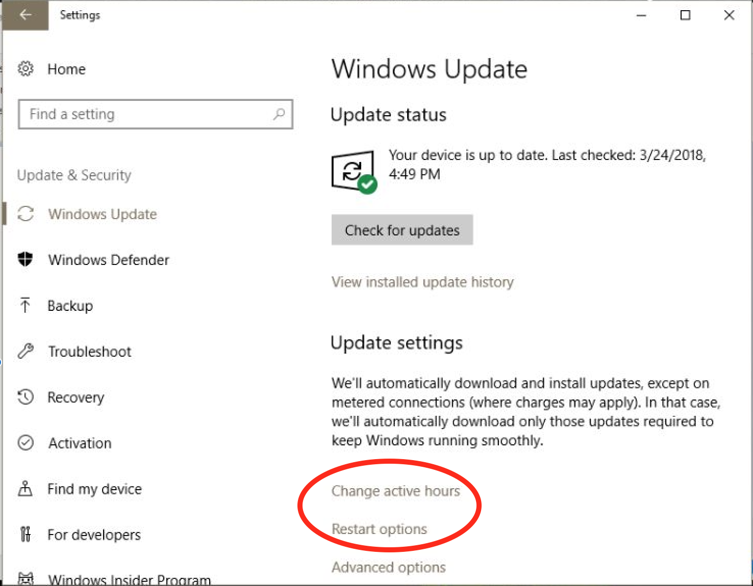 delay windows 10