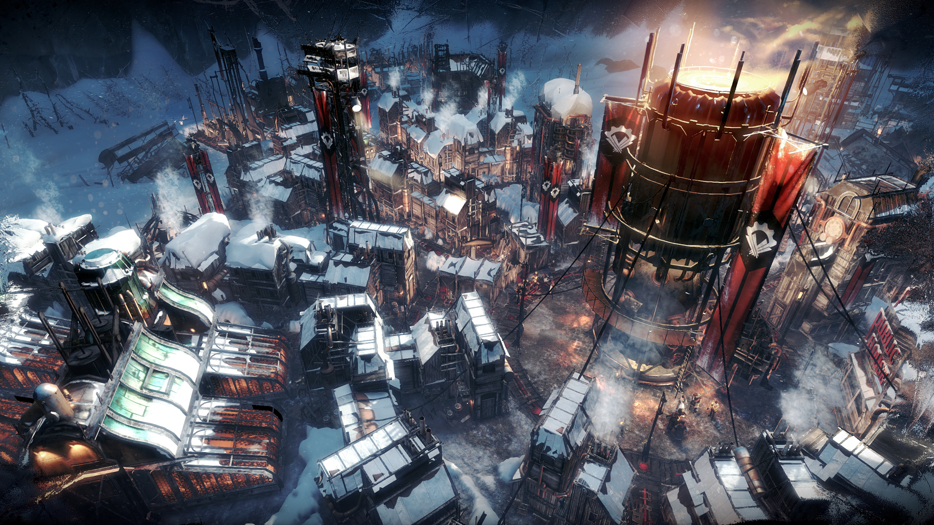 Frostpunk 2018 Game Wallpapers: Chillingly Good Stuff