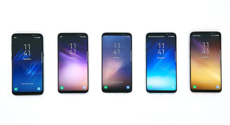 Galaxy S8 & <a class=