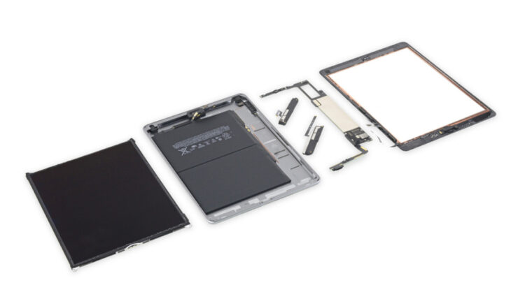 iPad 6 iFixit teardown