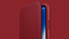 iphone-x-red-leather-folio