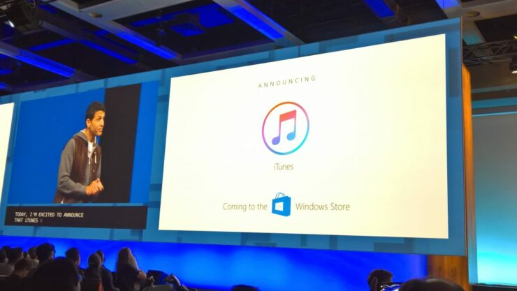 how to download itunes on windows surface