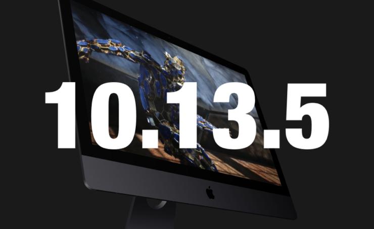 macOS 10.13.5 Beta