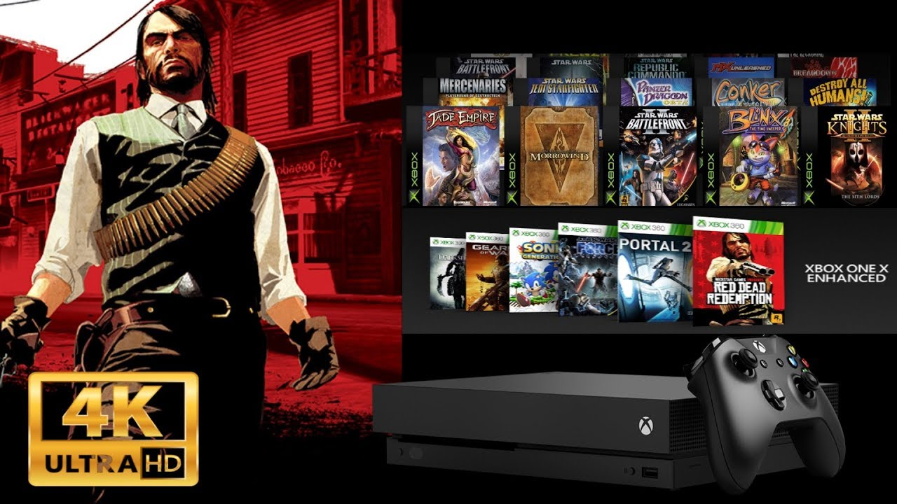 Df Red Dead Redemption Xbox One X Enhanced 4k A Treat Best In Cl Performance Improved Frame Rate Tweaked Mip Maps