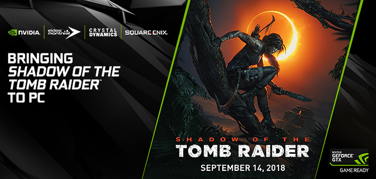 4800b37b2ad Shadow of the Tomb Raider's PC Version Is Optimized for NVIDIA GPUs,  Developed by Nixxes