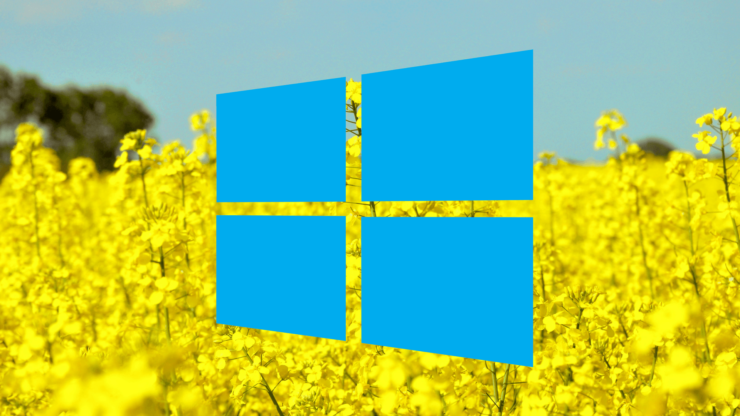Windows 10 cumulative update Redstone 5