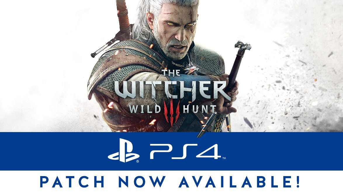 witcher 3 hdr patch ps4