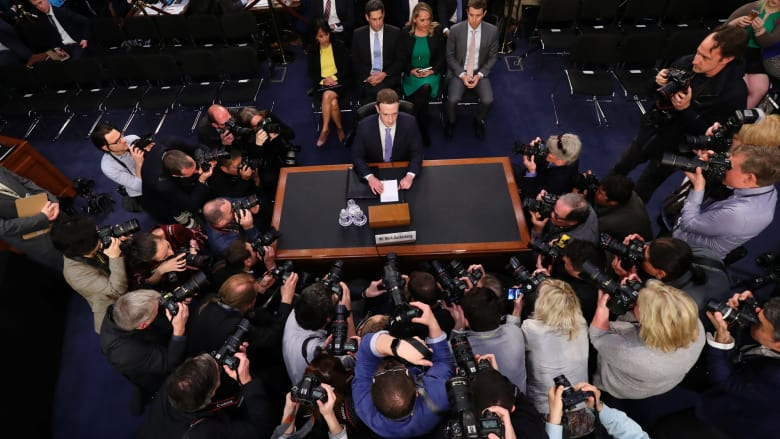 Image result for zuckerberg testimony