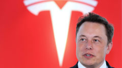 tesla-motors-inc-chief-executive-officer-elon-musk-news-conference