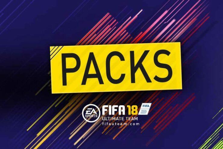 FIFA 18 fut lootboxes