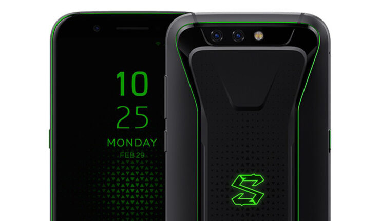 Xiaomi Black Shark higest spec model 8GB RAM announced