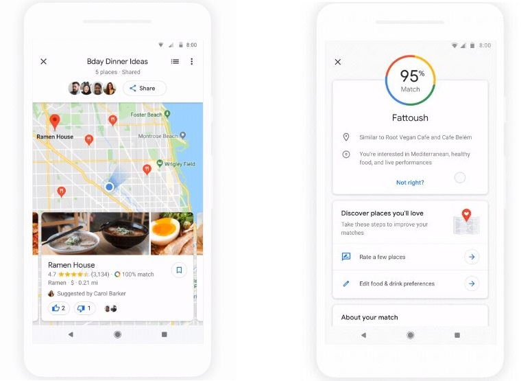 Google istant Is Coming To Google Maps With Major Control Changes on