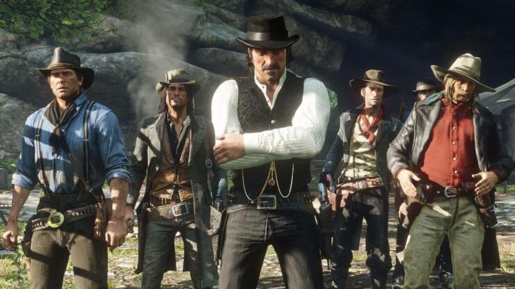 New Red Dead Redemption 2 Screenshots Showcase John Marston Up Close