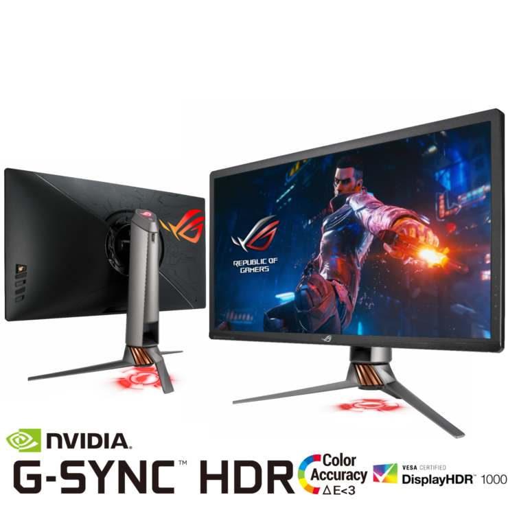 ASUS Launches ROG Swift PG27UQ 4K 144Hz NVIDIA G-SYNC HDR ...