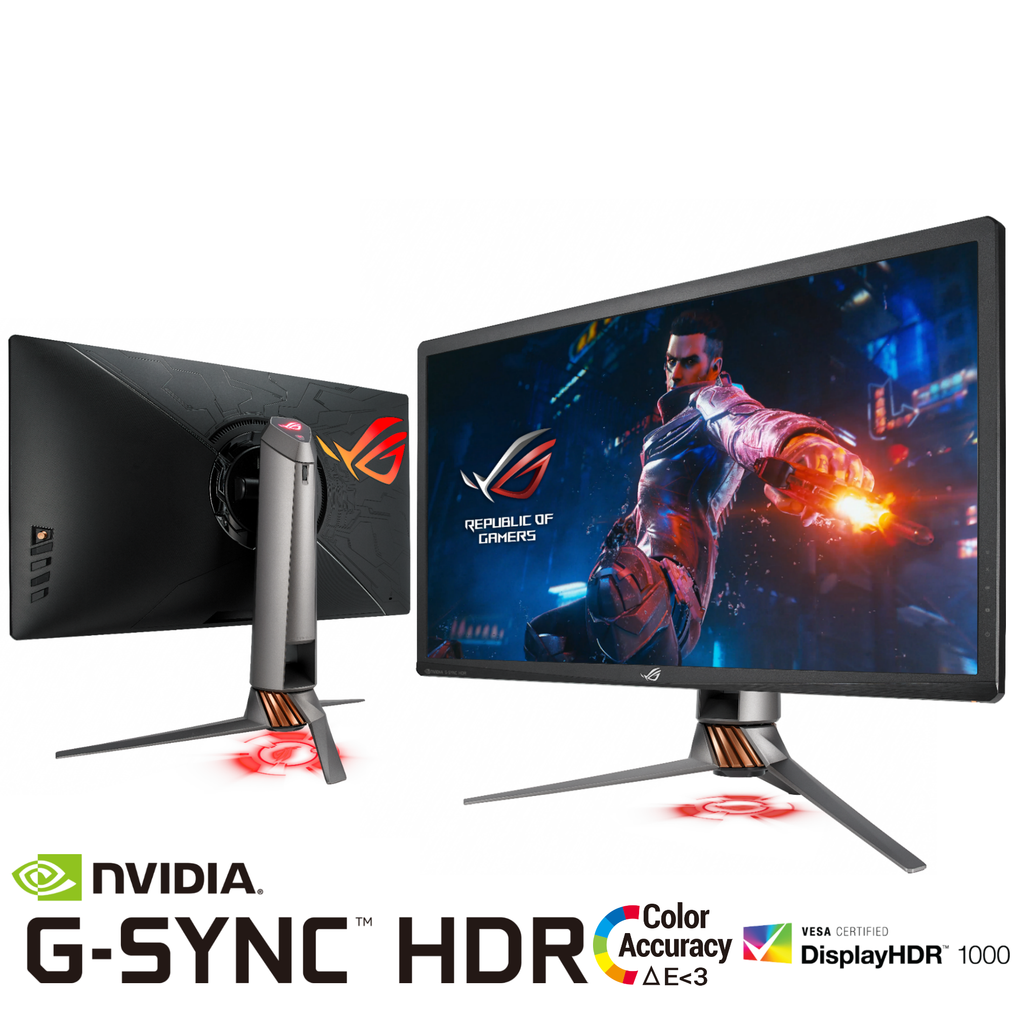 ASUS Launches ROG Swift PG27UQ 4K 144Hz NVIDIA G-SYNC HDR Monitor