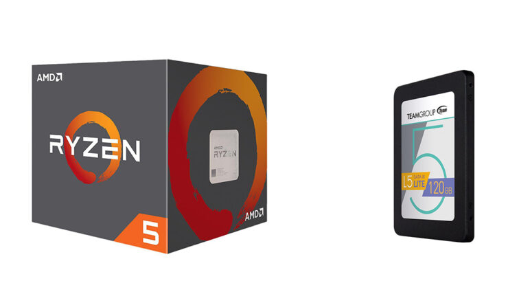 AMD Ryzen 5 SSD bundle