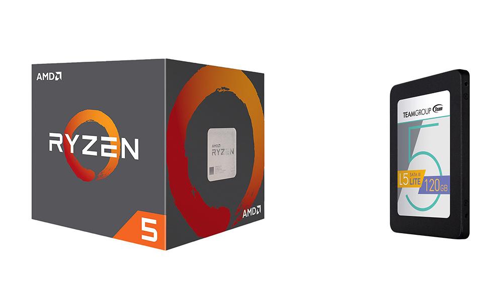 AMD Ryzen 5 SSD bundle